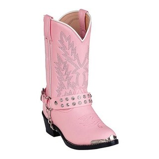 Durango Boot Girls' BT568 Pink Rhinestone