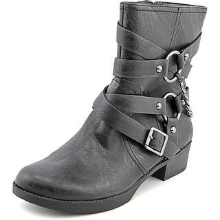 Jessica Simpson Goldi Round Toe Synthetic Mid Calf Boot