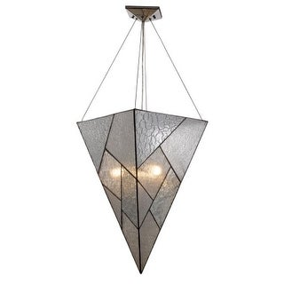 Landmark Lighting 72036 Prism 4 Light Pendant In Polished Chrome From The Prism Collection