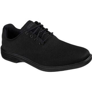 Skechers Men's Walson Dolen Oxford Black/Black