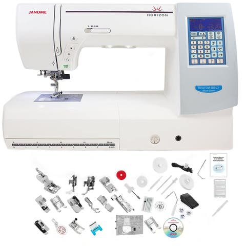Janome Memory Craft Horizon 8200QCP Special Edition Sewing Machine