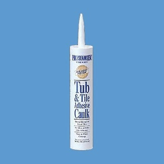 Drop In Bowl Caulk Sealer Clear Adhesive 10 oz