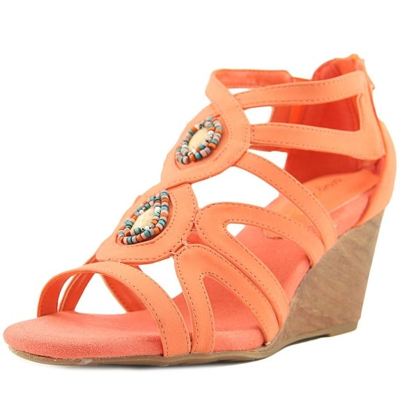 Easy Street Unity Women Coral Sandals