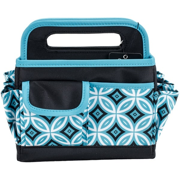 Everything Mary Scrapbook Desktop Organizer-Teal/Black