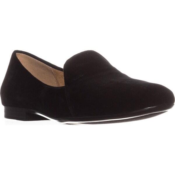 naturalizer Emiline Classic Slip On Loafers, Black Velvet