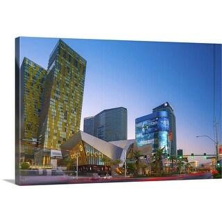 """Las Vegas, The Strip, CityCenter Complex, Nevada"" Canvas Wall Art"