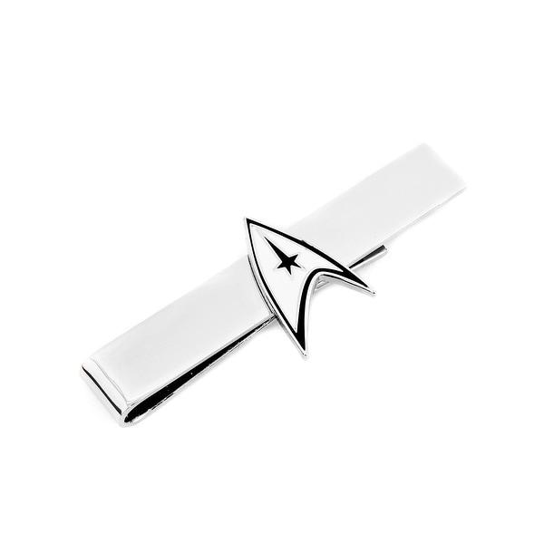 Officially Licensed Star Trek Tie Bar Starfleet communicator badge worn by Captain Kirk