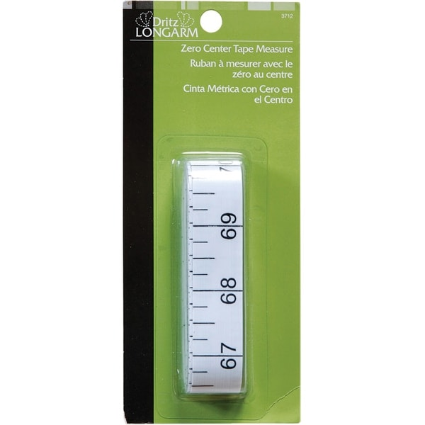 "Dritz Longarm Zero Center Tape Measure-144"""