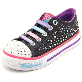 Twinkle Toes By Skechers S Light-Shuffles-Twirly Toes Youth Sneakers
