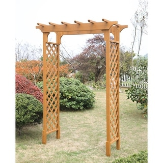 Link to Deluxe Garden Arbor Similar Items in Outdoor Decor