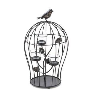 Triple Birdcage Candleholder