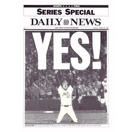 ''YES! ('86 Mets)'' by NY Daily News Sports/Games Art Print (15 x 10.5 in.)