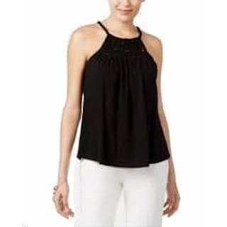 44ea3ce0334514 Cable   Gauge Black Womens Size XL Ruffled Bell-Sleeve Blouse. SALE. Quick  View