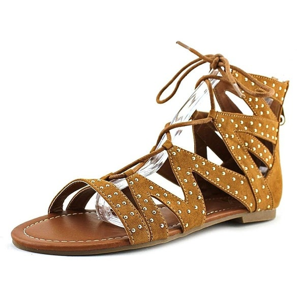 G by Guess Womens Leidah Open Toe Casual Gladiator Sandals