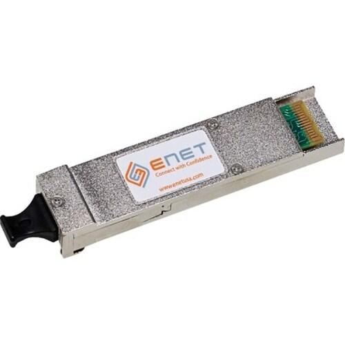 """ENET XFP-SR-ENC Aruba XFP-SR Compatible 10GBASE-SR XFP 850nm 300m DOM Duplex LC MMF 100% Tested Lifetime Warranty and"
