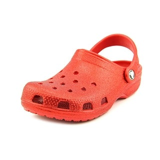 Crocs Classic Sparkle Clog Round Toe Synthetic Clogs