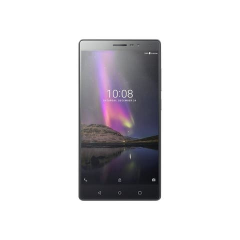 "Lenovo Phab 2 32GB 6.4"" 4G GSM Unlocked,Gunmetal Gray(Certified Refurbished) - Gunmetal Gray"