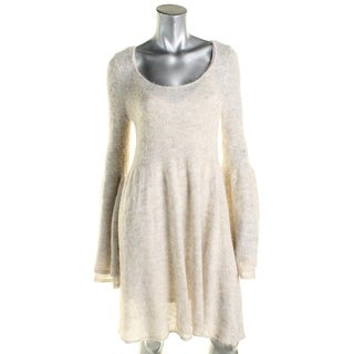 Free People Womens Sweaterdress Babydoll Alpaca Knit