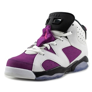 Jordan Air Jordan 6 Retro GP Youth Round Toe Synthetic White Basketball Shoe