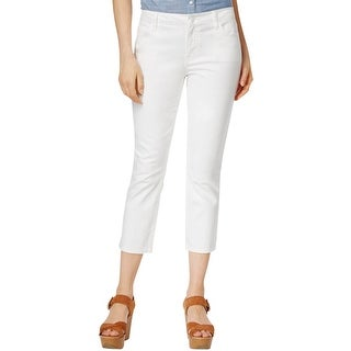 Tommy Hilfiger Womens Skinny Jeans Cropped Casual