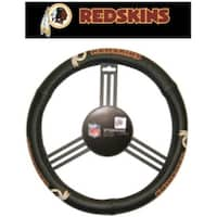 Washington Redskins Steering Wheel Cover - Leather