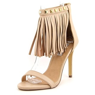 Steve Madden Siooux Women Open Toe Leather Sandals