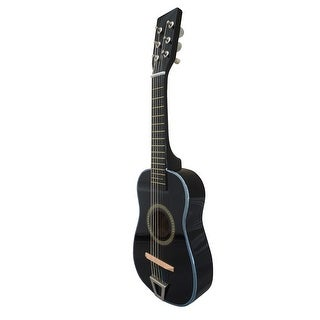Envo Toys Acoustic Toy Guitar Musical Instrument Play Set Black