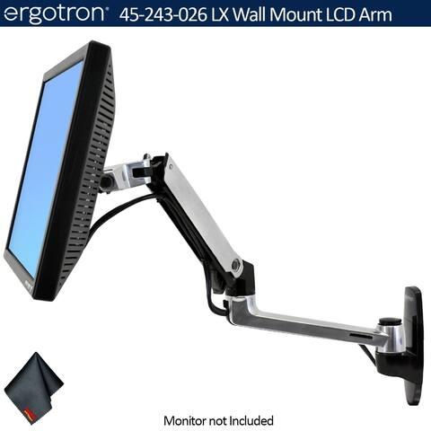 Ergotron LX Wall Mount LCD Arm Bundle