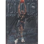 LaPhonso Ellis Denver Nuggets 1999 Fleer Metal Universe Autographed Card This item comes with a ce