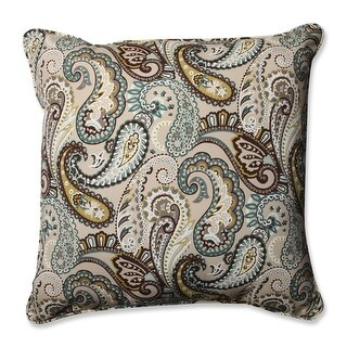 "Tamara Paisley Quartz Pillow 25"""