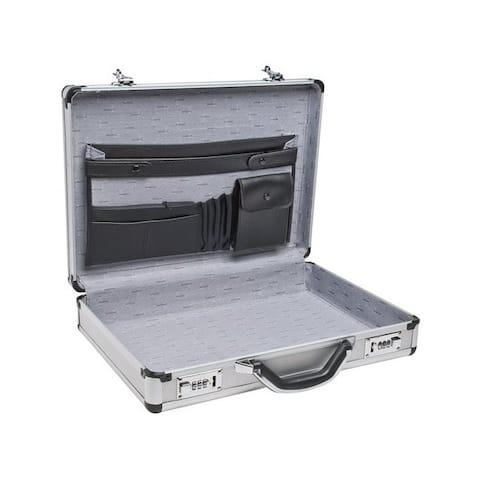 Roadpro r spc-931r 17 5 silver aluminum briefcases