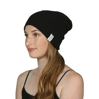 TopHeadwear Soft Ribbed Slouchy Beanie