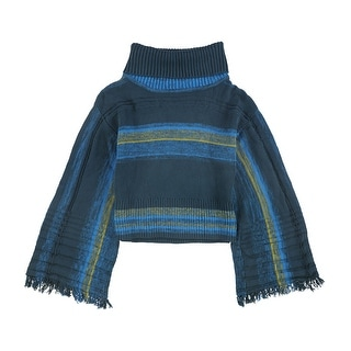 Link to Free People Womens Fringed Sleeve Pullover Sweater Similar Items in Women's Sweaters