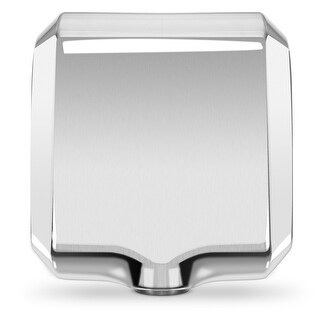 ARKSEN Bathroom Hand Dryer, Polished Stainless Steel Blower, Powerful 1800W - Dry Hands in 10s, Low Noise 70 dB