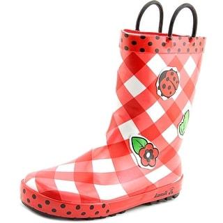Kamik Lady Bug Round Toe Synthetic Rain Boot