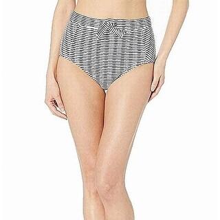 Tommy Bahama Womens Swimwear Blue Size Medium M High-Waist Bikini Bottom