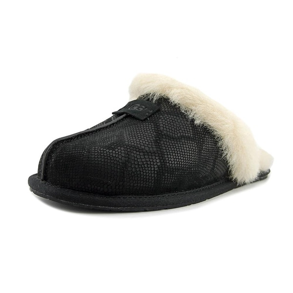 sale amazing price high quality cheap online UGG Australia Leather Round-Toe Slippers recommend cheap online great deals for sale with paypal cheap price xGlpT