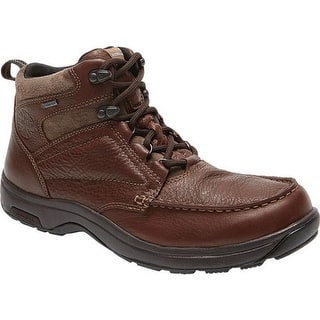 92e87ffea12a Add to Wishlist. Dunham Men s Exeter Moc Toe Waterproof Boot Dark Brown  Full Grain Leather