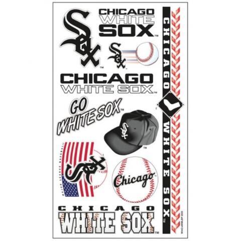 Chicago White Sox Tattoos Temporary