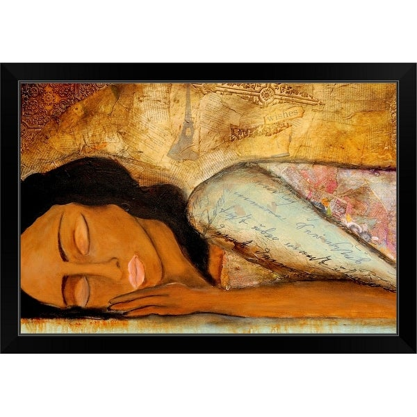 """""""Lost in a Day Dream"""" Black Framed Print"""