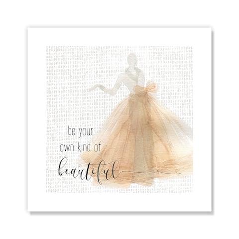 Be Beautiful - Orange