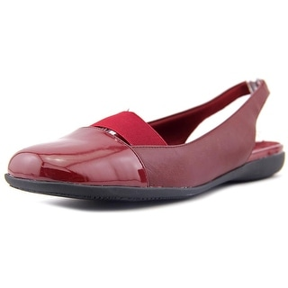 Trotters Sarina N/S Square Toe Leather Slingback Heel