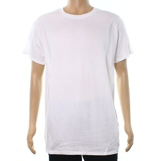 Fruit of the Loom NEW White Mens Size Large L Short Sleeve T-Shirt