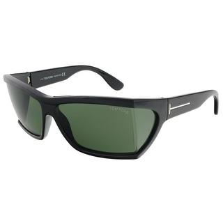 Tom Ford FT0401/S 01N Sasha Shiny Black Rectangle Sunglasses