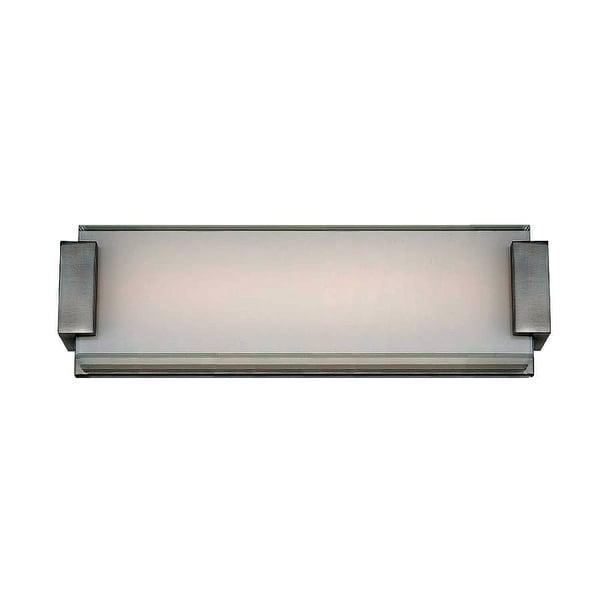 Modern Forms WS-3218 Polar 1 Light LED ADA Compliant Bathroom Vanity Light - 18 Inches Wide