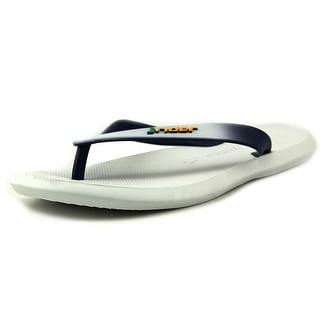Rider Brazil Men Open Toe Synthetic White Thong Sandal