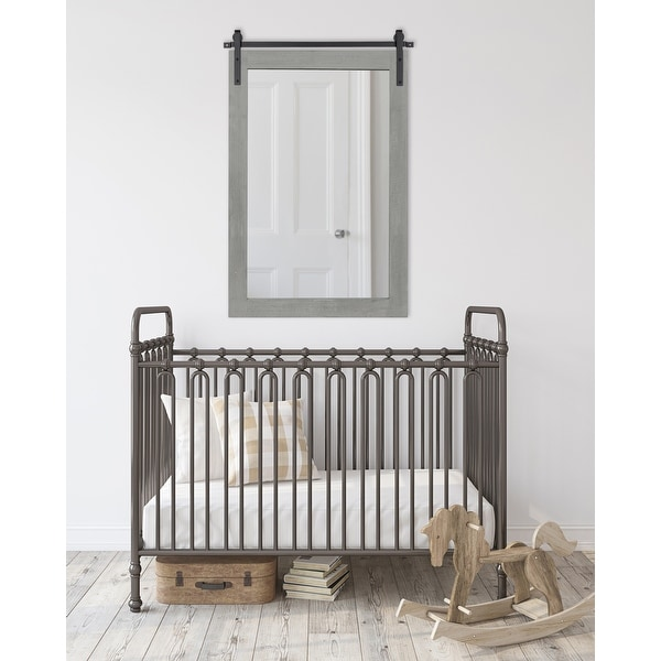 Kate and Laurel Cates Rustic Wall Mirror. Opens flyout.