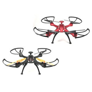 TechComm Explorer Apache RC Quadcopter Drone LED Lights Headless Mode