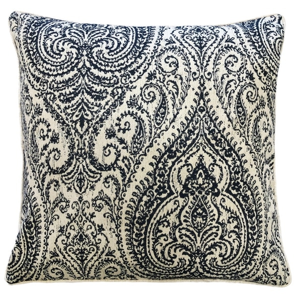 Rodeo Home Polina Traditional Damask Linen Throw Pillow. Opens flyout.