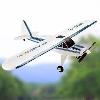Costway Volantex Super Cub RC Plane 2.4G 4CH Airplane RTF Brushless Motor Sport Park